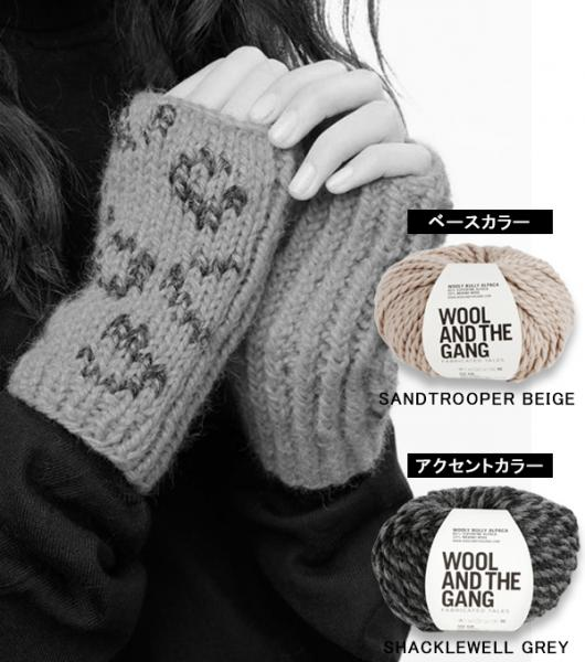 WOOL AND THE GANG 【DEF LEOPARD MITTENS】