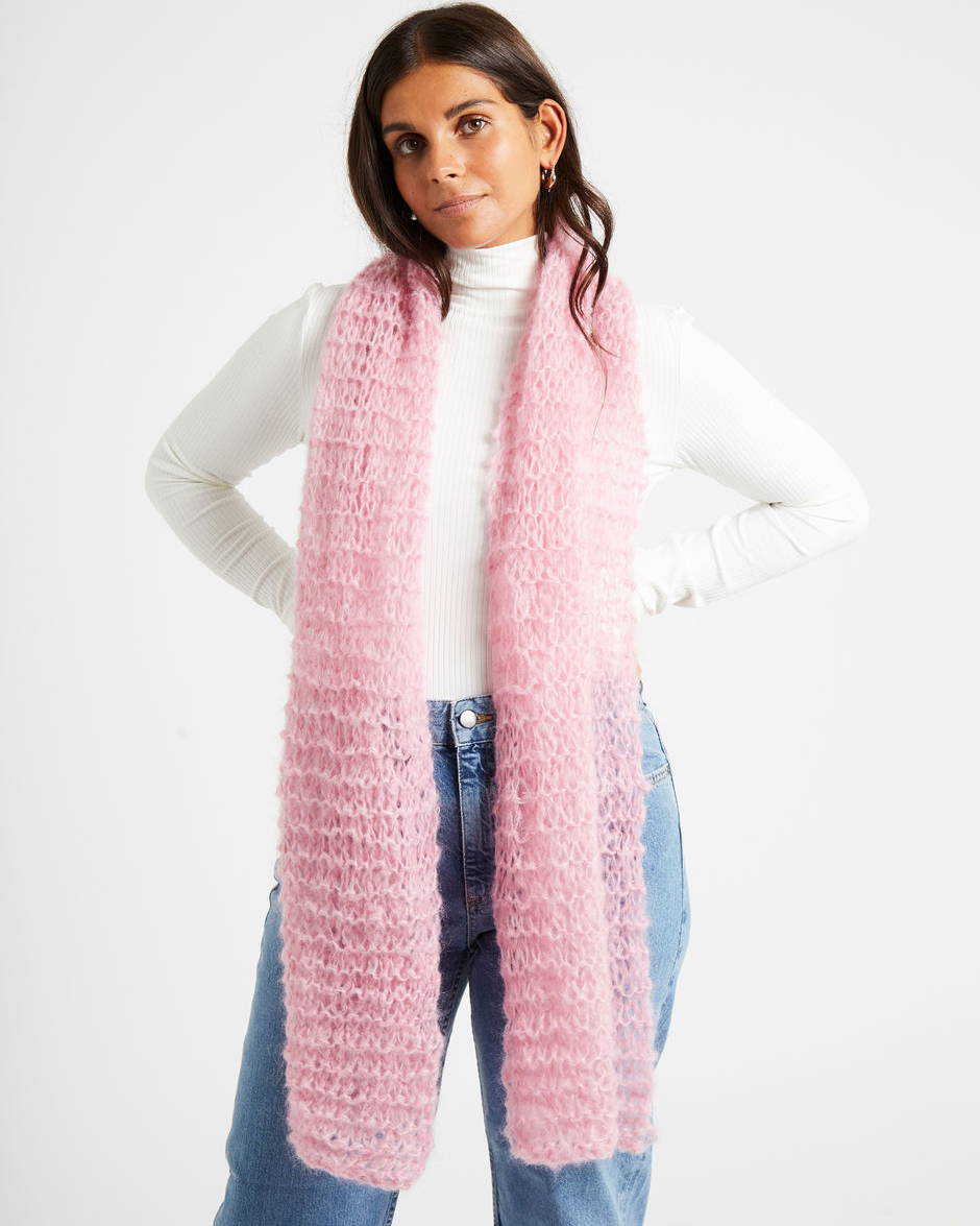TAKE MY HEART SCARF