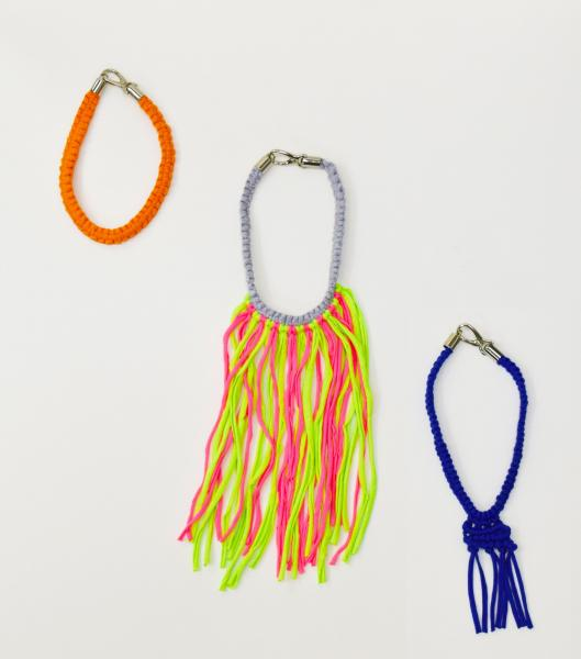 WOOL AND THE GANG 【MIXI MACRAME NECKLACE】
