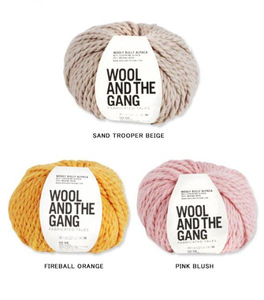 WOOL AND THE GANG 【WOOLY BULLY ALPACA】