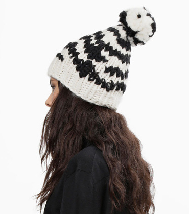 WOOL AND THE GANG 【ZEBRA CROSSIN' BEANIE】