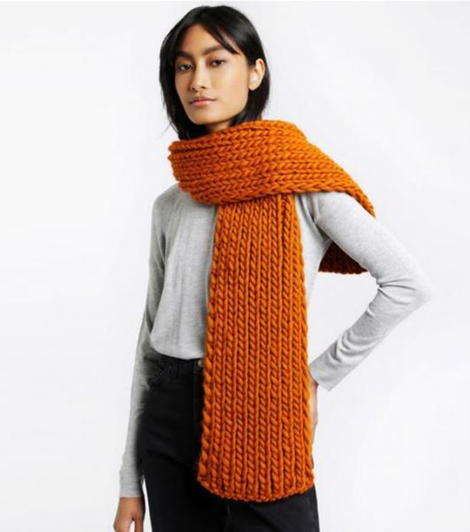 WOOL AND THE GANG【WHISTLER SCARF】