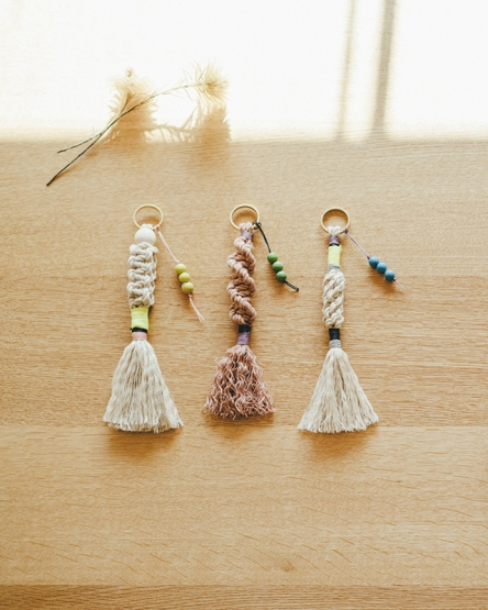 Macrame Charm KIT LUC-KEY HOLDER