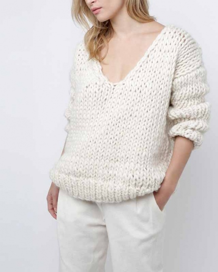 WAY WOOL SWEATER