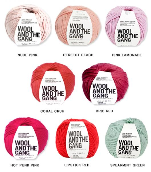 WOOL AND THE GANG 【SHINY HAPPY COTTON】