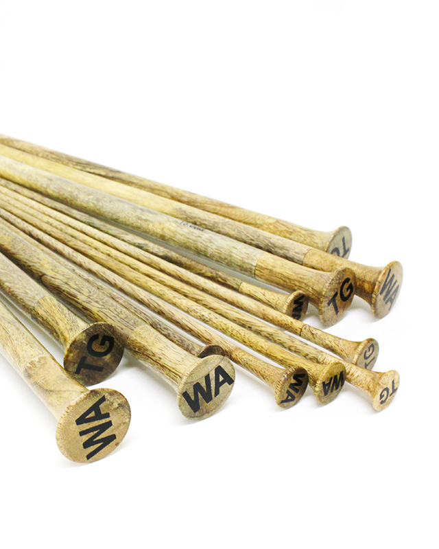 MANGOWOOD KNITTING NEEDLES